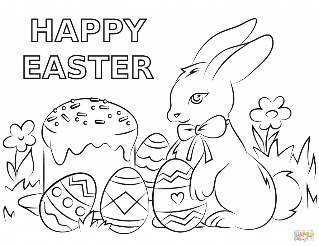 2021 Easter Coloring Contest